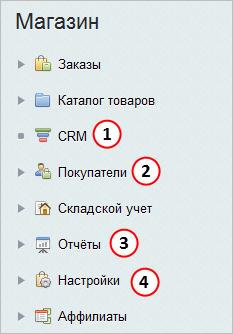 В каких разделах можно посмотреть информацию по брошенным корзинам пользователей?
